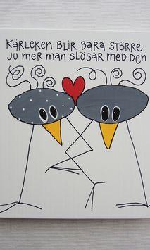 Kärleken blir bara större ju mer man slösar med den Proverbs Quotes, Carpe Diem, Wise Words, Poems, Presents, Bullet Journal, Love, Sayings, Painting