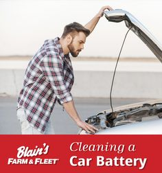 Believe it or not, your car battery needs to be cleaned every once in awhile! Dodge Ram 1500 Accessories, Car Cleaning, Cleaning Cars