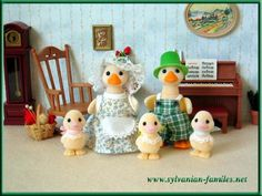 Sylvanian families duck family - cute!