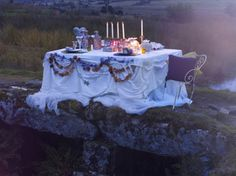 romantic dinner for two please!