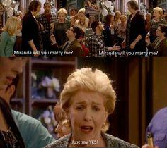 Thank God it was Gary! Miranda Hart Funny, Miranda Hart Quotes, Miranda Tv Show, Miranda Bbc, British Humor, British Comedy, Super Funny Memes, Really Funny Memes, Tom Ellis