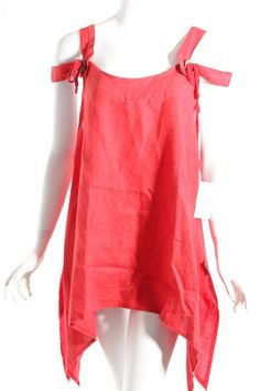 SARAH SANTOS Tunic Dress red casual look Women's Size UK 12 | Clothes, Shoes & Accessories, Women's Clothing, Dresses | eBay!