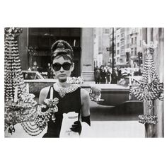 Audrey Hepburn - Breakfast at Tiffany's 24X36 Standard Wall Art Poster