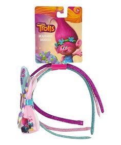 Trolls Headband Bow & Header Card Set