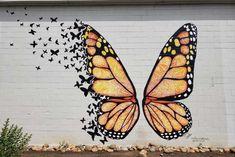 Graffiti Wall Art, Murals Street Art, Mural Art, Wall Murals, Wall Painting Decor, Wall Paintings, Garden Mural, Instagram Wall, School Murals
