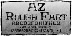 AZ Rough Fart font download