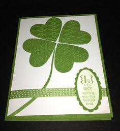 We Are the Stampions: St. Patricks Day Card