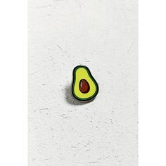 UO Avocado Pin (210 MXN) ❤ liked on Polyvore featuring jewelry, brooches, urban outfitters jewelry, urban outfitters, polish jewelry, pin jewelry and green brooch