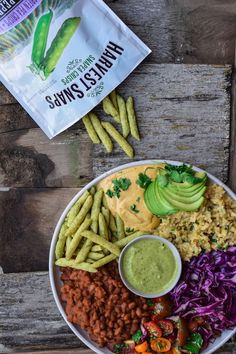 The Oaxaca Bowl with Harvest Snaps (35 Minutes, The Perfect Meal Prep) Recipe by Food by Maria