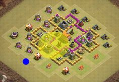 How and by whom the attack on th6 Clash of Clans