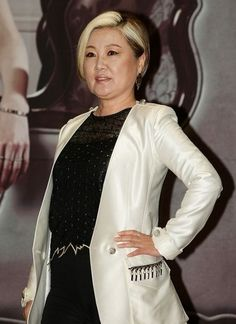 'Hotel King' Kim Hye Sook Bleaches Her Hair 12 Times. Hotel King, Her Hair, Bleach, Leather Jacket, Times, Fashion, Studded Leather Jacket, Moda, Leather Jackets
