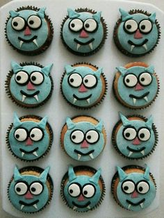 Dolfje Weerwolfje cupcake' s