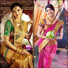 Kanjeevaram Wedding Sarees | ... saree collection latest kanjeevaram silk kanchi pattu bridal sarees