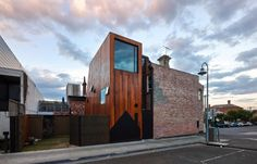 House House / Andrew Maynard Architects    The cedar + brick is an incredibly cool juxtaposition.