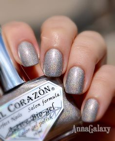 Anna Galaxy: El Corazon Active Bio-gel Colour Gel Polish, Лак для ногтей из серии Prizma № 423/39