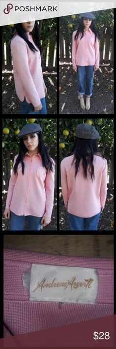 Vintage 60's Andreno Argenti Golf shirt! Super cute ladies golf shirt by Andreno Argenti. No size but fits like a small. Feels like thick polyester or nylon. Good condition. Will measure upon request. Vintage Tops