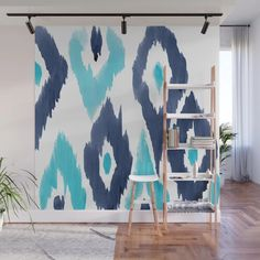 Buy Malibu Ikat Wall Mural by nataliebaca. Worldwide shipping available at Society6.com. Just one of millions of high quality products available.