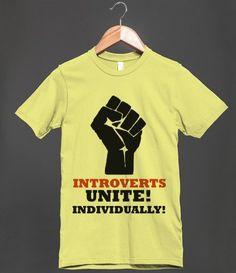 Introverts Unite, Individually