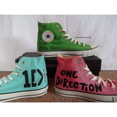 One Direction Hi-Top Converse. I want. I want. I want!