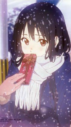 Mitsuki | Kyoukai no Kanata Kawaii Anime Girl, Anime Art Girl, Manga Art, Anime Manga, Anime Girls, Anime Toon, Anime Nerd, Kyoto Animation, Satsuriku No Tenshi