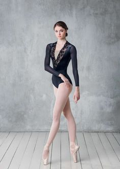 Luxury velvet leotard with plunge V-neckThis Content For You Personally If You Love collectible Bolshoi Ballet, Ballet Dancers, Ballet Leotards, Vinyl Pants, Dancer Photography, Ballet Images, Long Sleeve Leotard, Dance Poses, Ballet Beautiful