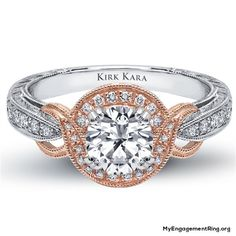 rose gold diamond ring for engagement - My Engagement Ring