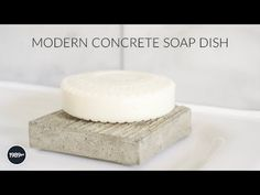 Concrete Soap Dish DIY: 9 Steps (with Pictures)