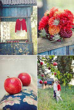 Blue & Red by loretoidas, via Flickr
