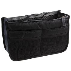 Eforstore Travel Makeup Insert Handbag Organiser Tidy Cosmetic Pocket Purse Zipper Bag Toiletry Bags for Women Men Girls Boys Kids Adults Teens >>> For more information, visit image link.