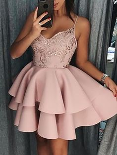 Crochet Lace Ruffles Layered Boxed Dress trendiest dresses for any occasions, including wedding gowns, special event dresses, accessories and women clothing. Hoco Dresses, Sexy Dresses, Vintage Dresses, Casual Dresses, Formal Dresses, Summer Dresses, Wedding Dresses, Cheap Short Homecoming Dresses, Romantic Dresses