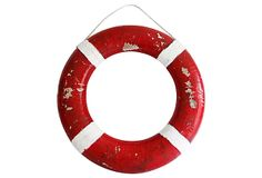 Red Life Preserver/ https://www.onekingslane.com/shop/debra-hall-lifestyle OneKingsLane.com