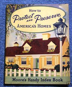 C 1950 How to Protect Preserve America's Homes, Cool Benjamin Moore ad