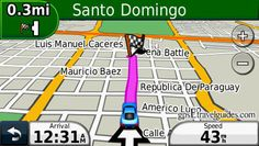 Dominican Republic GPS Map Santo Domingo - GPS map directions.