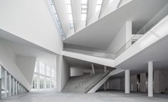 Minsheng Contemporary Art Museum | An abandoned electronics factory in Beijing is converted into a sprawling space for contemporary art by Studio Pei-Zhu.
