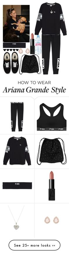 """Me and Ari hanging out with her dogs well michael is out with frank delio!"" by loveclohthssomuch on Polyvore"