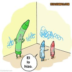 A fun image to add a little humor to object pronouns! Spanish Posters, Spanish Jokes, Funny Spanish, Class Memes, Funny Jokes, Hilarious, Humor Grafico, Teaching Spanish, Spanish Classroom