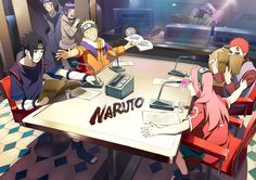 The Cast of Naruto
