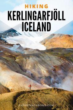 Kerlingarfjöll In The Icelandic Highlands Tips for Hiking Kerlingarfjoll in Iceland's Highlands.Tips for Hiking Kerlingarfjoll in Iceland's Highlands. Amazing Destinations, Travel Destinations, Travel Europe, Reykjavik Island, Highlands, Iceland Hikes, Book Cheap Hotels, Michigan, Viajes