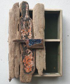 Driftwood Cupboard Cabinet, Drift Wood Bathroom Cabinet Julia's Driftwood £85.00