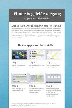 iPhone begeleide toegang activeren in 6 stappen. Leen je iPhone zo veilig uit aan je leerlingen.