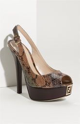 Python Slingbacks-Fendi (a favourite fashion au repin of www.vipfashionaustralia.com )