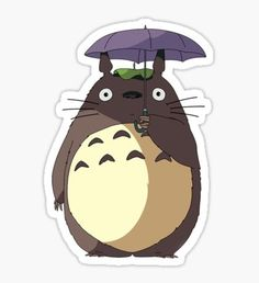 Totoro stickers featuring millions of original designs created by independent artists. Stickers Cool, Cute Laptop Stickers, Cartoon Stickers, Tumblr Stickers, Kawaii Stickers, Printable Stickers, Totoro, Journal Stickers, Aesthetic Stickers