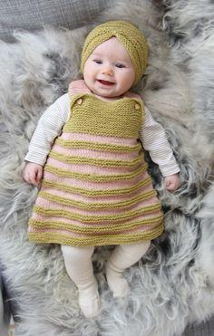 Infant Dress and Turban Set