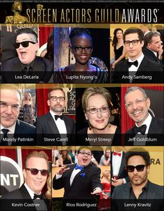 Celebs Play Up Their Peepers for the SAGs: http://eyecessorizeblog.com/2015/01/celebs-play-peepers-sags/