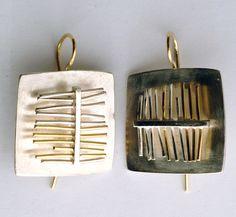 Visualizza su Susanna Baldacci gioielli contemporanei: orecchini - argento, oro