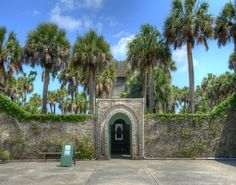 Take a tour through Atalaya Castle, located in Huntington Beach State Park.  Atalaya was once the winter home of  industrialist and philanthropist Archer M. Huntington and his wife, the sculptor Anna Hyatt Huntington.  (Click on the pin for other things to do in the Myrtle Beach area)