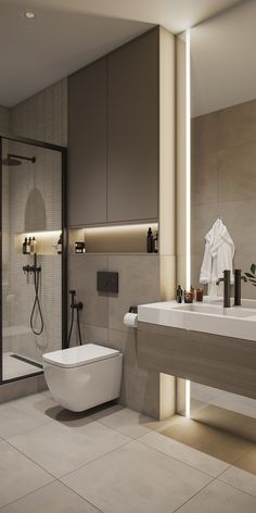 Washroom Design, Toilet Design, Bathroom Design Luxury, Modern Bathroom Design, Contemporary Bathrooms, Home Room Design, House Design, Small Bathroom Plans, Bathroom Design Inspiration