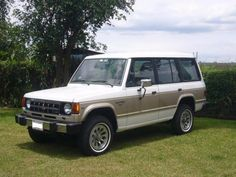 Loved this car!   A new Mitsubishi Montero....my 3rd car.  Loved it!