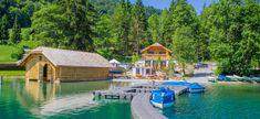 Salzkammergut Radweg: So nah an Wasser und Kultur Hallstatt, Seen, Salzburg, Austria, Cabin, House Styles, Cabins, Cottage, Cubicle