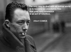 Albert Camus Quotes To know oneself, one should assert oneself. Albert Camus Don't wait for the last judgment - it takes place every day. Life Quotes Love, Great Quotes, Quotes To Live By, Me Quotes, Inspirational Quotes, Loner Quotes, Motivational People, The Words, Albert Camus Quotes